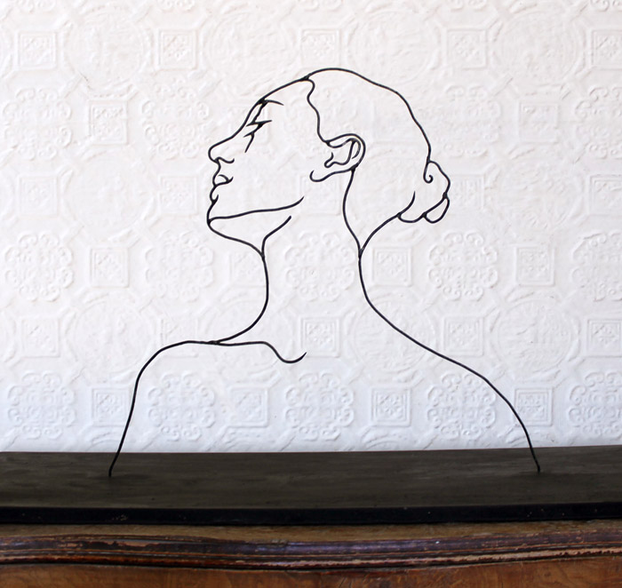 how to make wire art sculptures